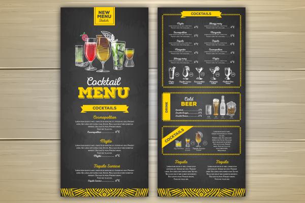 2 ways to Employ Creative Menu Design Ideas for Restaurant