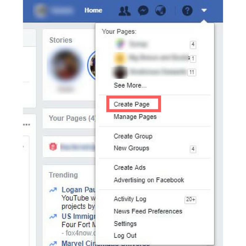 facebook-page-create
