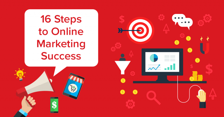 16 Steps to Online Marketing Success