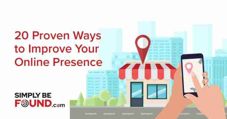 _20 Proven Ways to Improve Your Online Presence