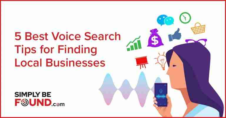 5 Best Voice Search Tips for Finding Local Business