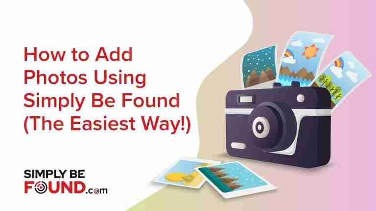 How to Add Photos Using Simply Be Found
