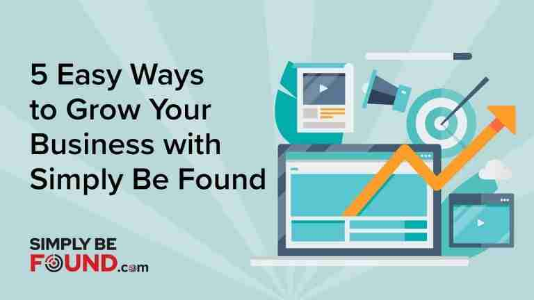 5 easy ways to grow your business with Simply Be Found